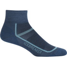 Icebreaker W's Multisport Ultra Light Mini Socks prussian blue/waterfall